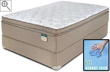 Dorchester Gel Infused Pillow Top A Pocket Coil Mattress