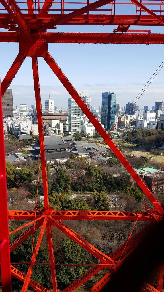 Zojo-Ji Temple from Tokyo Tower