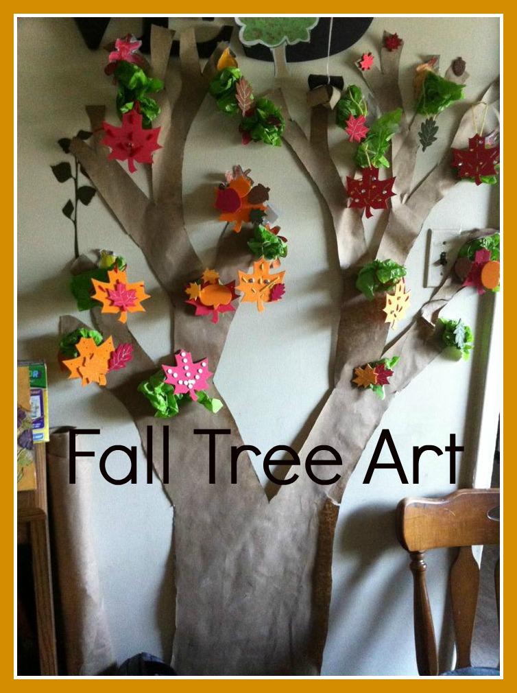 Fall Tree Art