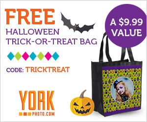 FREE Halloween Trick or Treat Bag