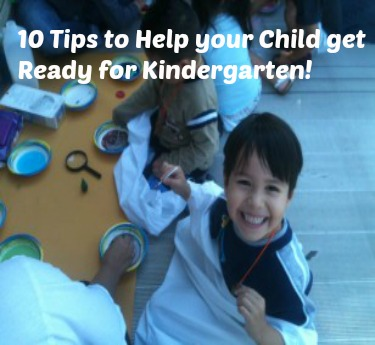10 Tips for Caregivers to Help Prepare Kids for Kindergarten