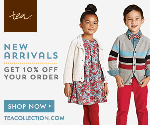 Get 10% off your Order for New Arrivals at Tea Collection
