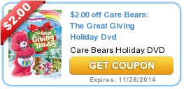 Bonus Coupons: (Food+Personal Care+In the Home) 11/6
