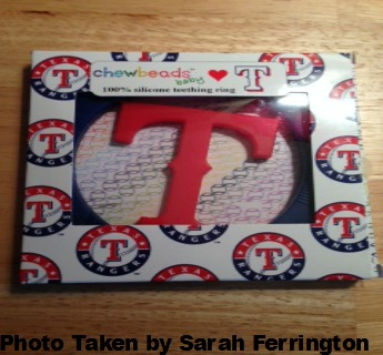 Chewbeads Teething Jewelry MLB Line {Review}