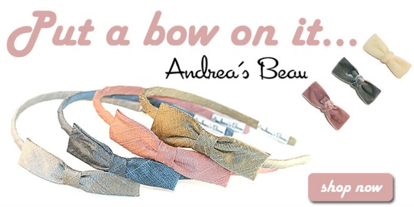 "Put a ""Bow"" on it….Andrea's Beau"
