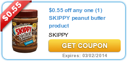 New Coupons (Skippy + Dove + Windex + Right Guard) & New/Update​d Offers (Fitness Mag + Alaska Travel)