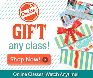 Craftsy Gift Card and Free Printable Gift Tags