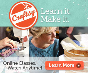 FLASH SALE: Save Big on Craftsy Products Ends 1/25