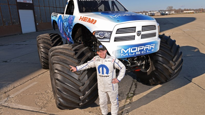 New Monster Truck to be Unveiled at Detroit Monster Jam 1/11