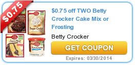 New Coupons (Betty Crocker + Iams + Pillsbury + Hershey's + Crest) 2/3