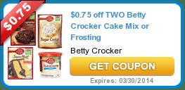 New Coupons (Betty Crocker + Iams + Pillsbury + Hershey's + Crest) 2/3