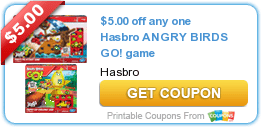 New Coupons + Hottest Offer + Angry Birds + Vistaprint + Subway + Hormel 2/19