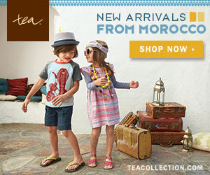 More Moroccan Designs Just Released from Tea Collection