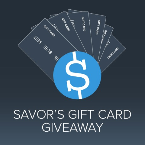Savor iPad Coupon App-Sweepstakes Ends 4/30/14
