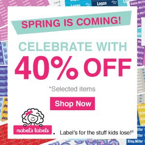 Mabel's Labels: 40% off Select Products