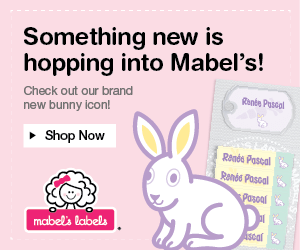 Hop Over to Mabel's Labels for the New Bunny Icon