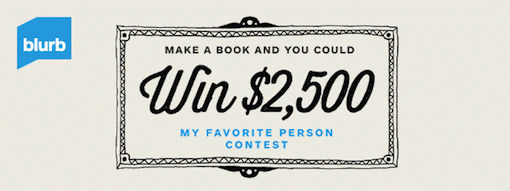 Blurb Contest Update with Video: You Could Win $2,500