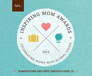 Inspiring Mom Awards by Tea Collection Ends 4/25