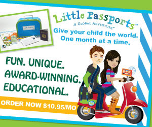 Little Passports 12 Month Subscription Giveaway + Melissa and Doug Toys Ends 4/25
