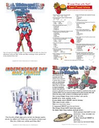 Printable 4th of July Party Games Pack {Download}