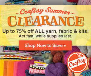 Craftsy Summer Supplies Clearance Ends 7/28