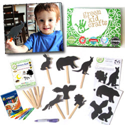 Try Green Kid Crafts for Free: Includes Shadow Puppets
