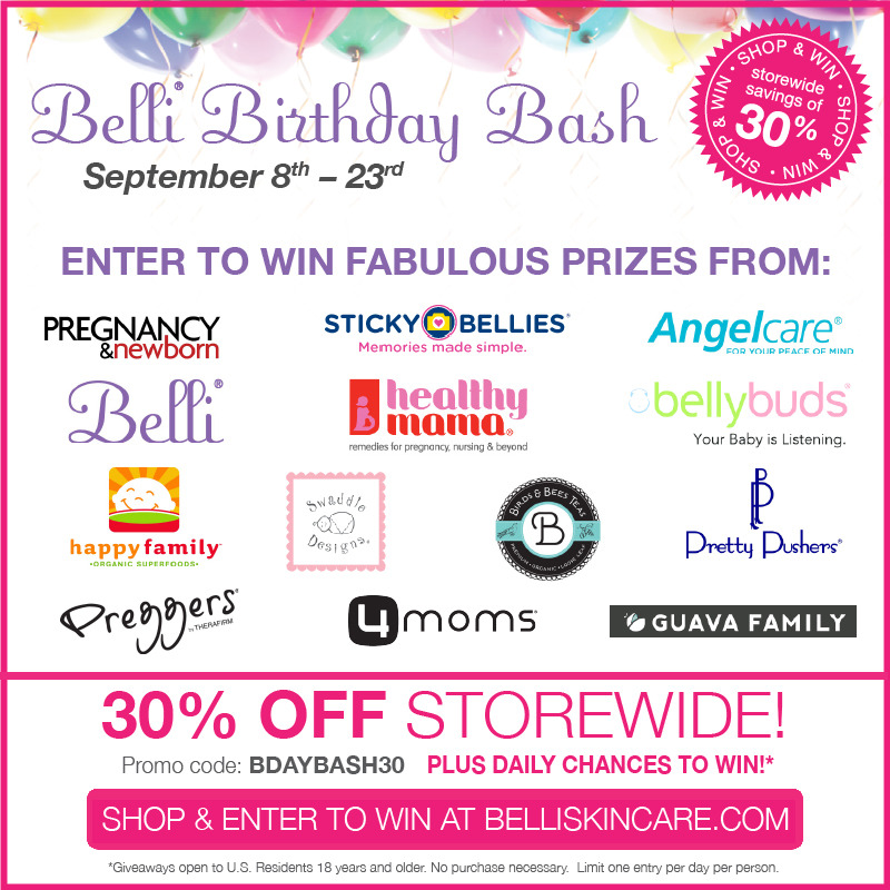 Belli Skincare #BelliBirthdayBash 9/8-9/23