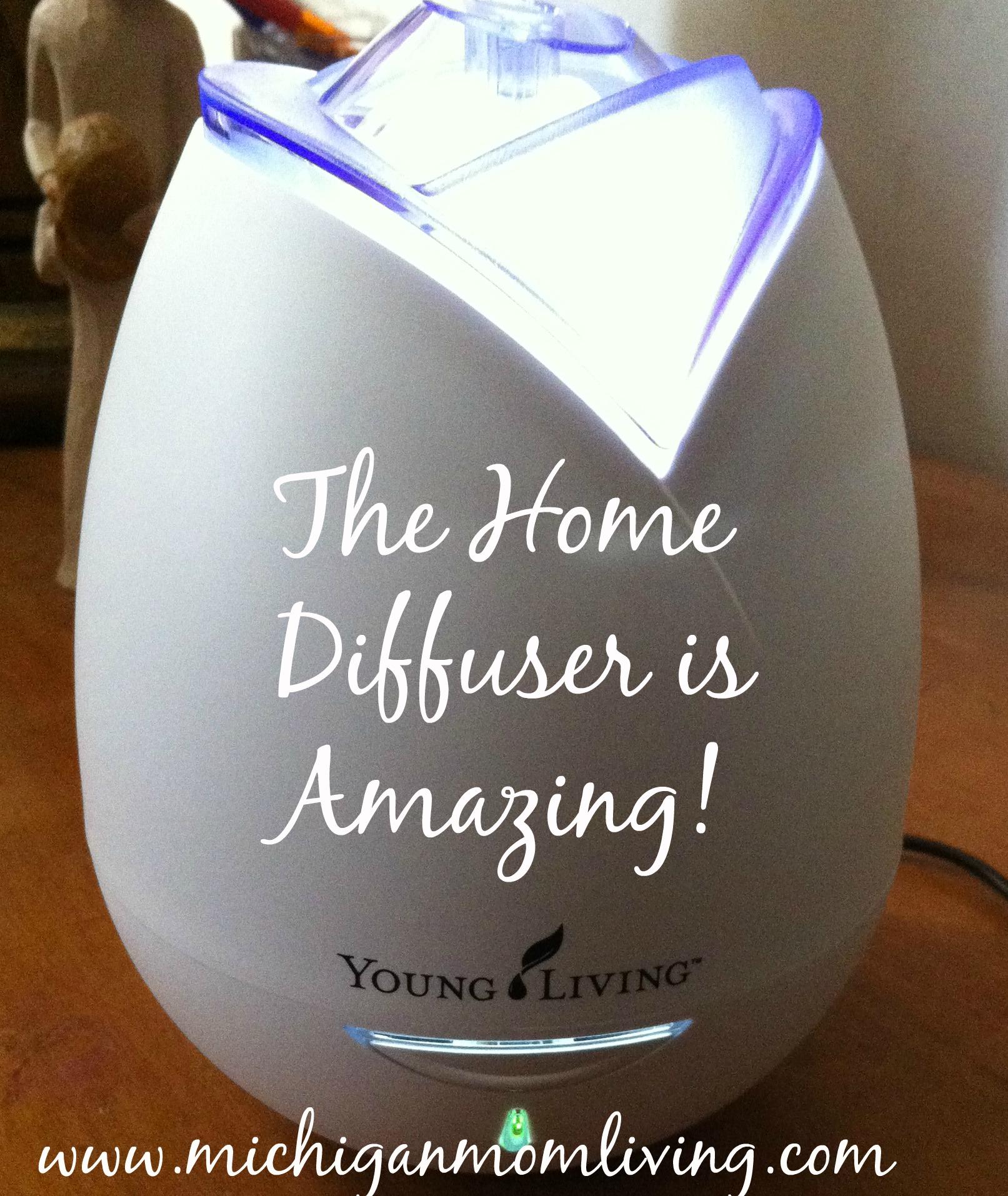 My Essential Oils #HomeDiffuser