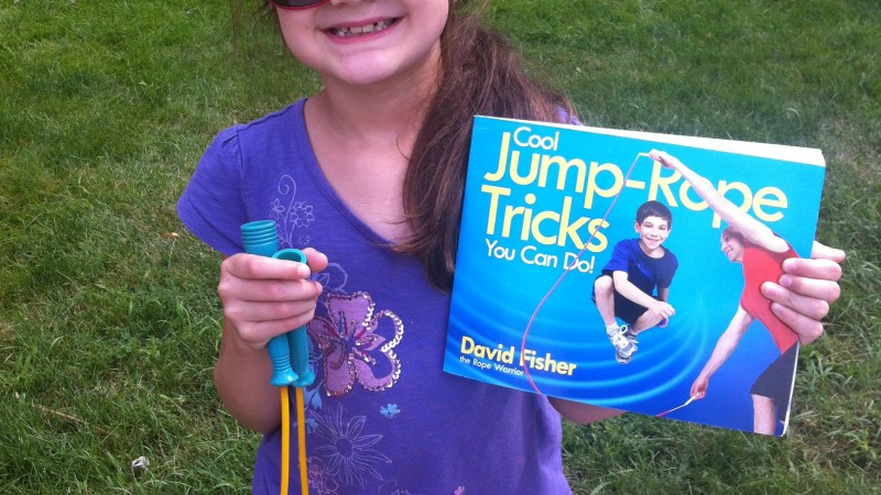 Cool Jump-Rope Tricks You Can Do! {Book Review}