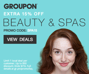 Groupon: 15% Off Beauty and Spas-Multiple Michigan Locations