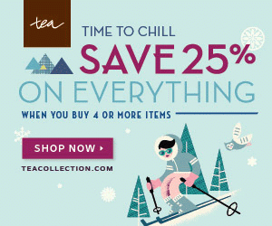 Tea Collection​'s Time to Chill Event – Save 25% on Everything {Two Days Only} Ends 10/28