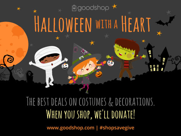 Last Minute #HalloweenDeals That also Donate!