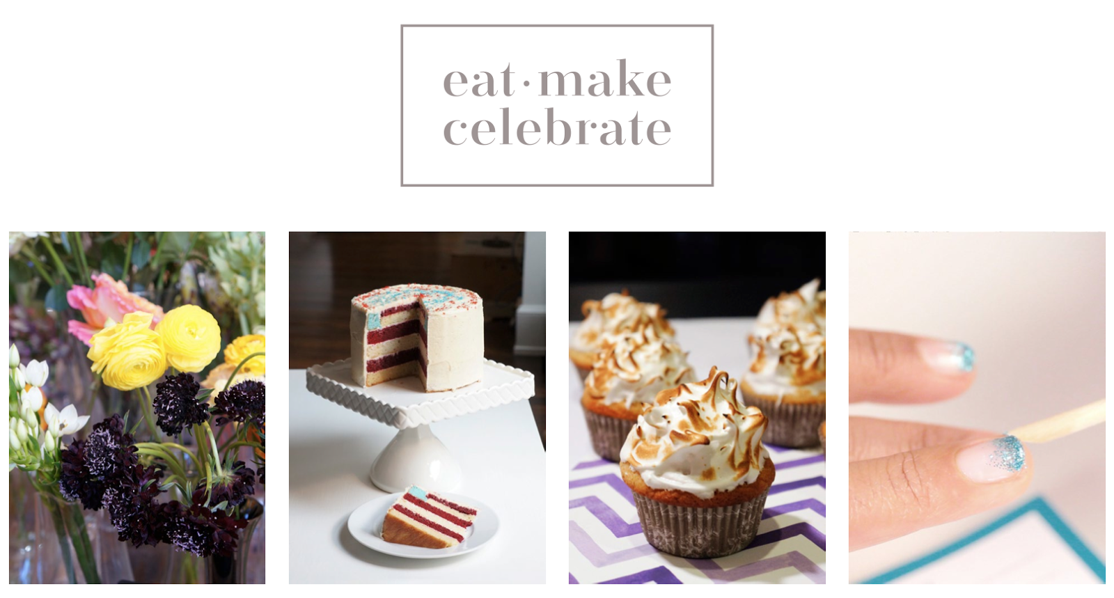 Announcing the Launch of Eat Make Celebrate
