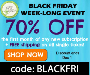 Green Kid Crafts #BlackFriday Sale-Up to 70% Off Ends 12/1