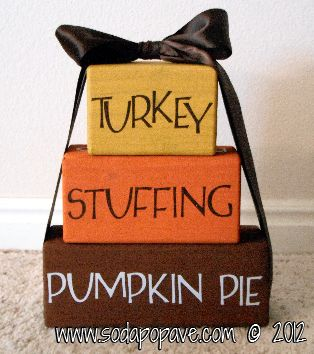 Thanksgiving 2014 Craft Roundup