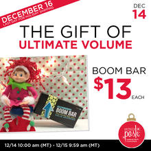 December 14th #Poshmas: The Gift of Ultimate Volume Boom Bar $13 Each