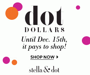 Stella & Dot DOT Dollars: Spend $50, Get $25