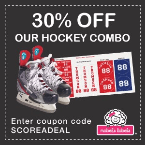 30% off Hockey Combos at Mabel's Labels