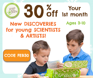 30% Off Any New Green Kid Crafts Subscription