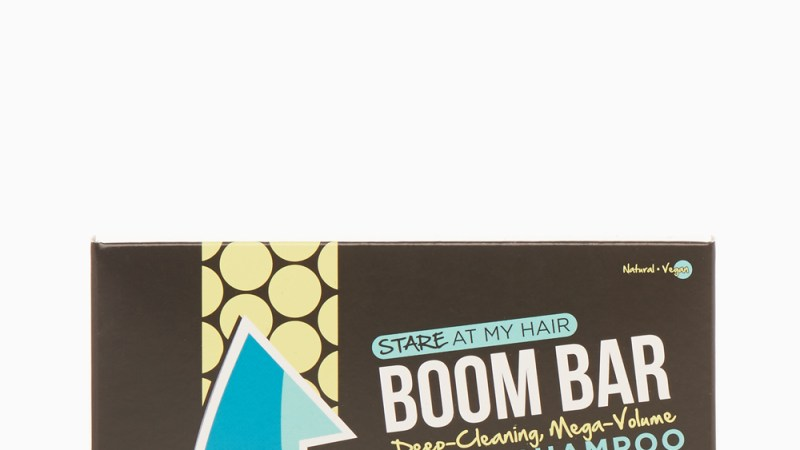 "Loving My ""Stare at My Hair"" Shampoo Boom Bar"