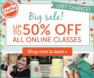 Last Chance Big Sale up to 50% Off All Online Classes Ends TONIGHT 3/16
