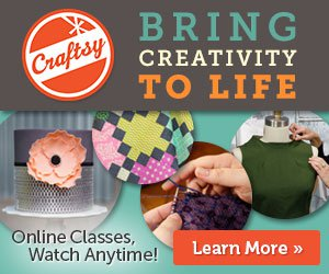 Craftsy Celebrates Mother's Day With up to $20 off Every Class Ends 5/11