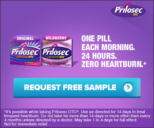 Request a Free Sample of Prilosec Expires 7/1/15