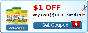 Wednesday's Coupon Savings 6/24- $1.00 Off Two Dole Jarred Fruit, $0.50 Off Windex, and More!