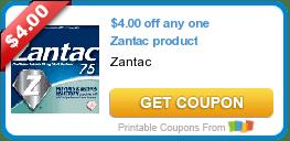 Friday's Coupon Savings: Zantac, Carefree, Danimals, and More! 6/5