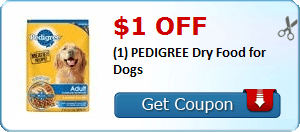 Coupon Savings 7/1: $1.00 Off Pedigree Dog Food, $0.75 Off Kraft Natural Cheese, and More!