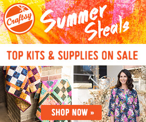 Craftsy Summer Steals Event Ends 6/21