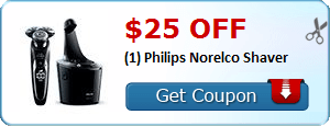 Coupon Savings 7/9: Get $25 off a Philips Norelco Shaver, $2 off (1) Ensure Product, and More!