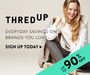 July offer: 40% off your first order at thredUP Ends 7/31