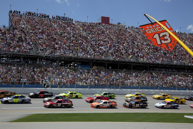 NBC SPORTS' BUMPER NASCAR at Michigan International Speedway for Sprint Cup Series: August 14-16